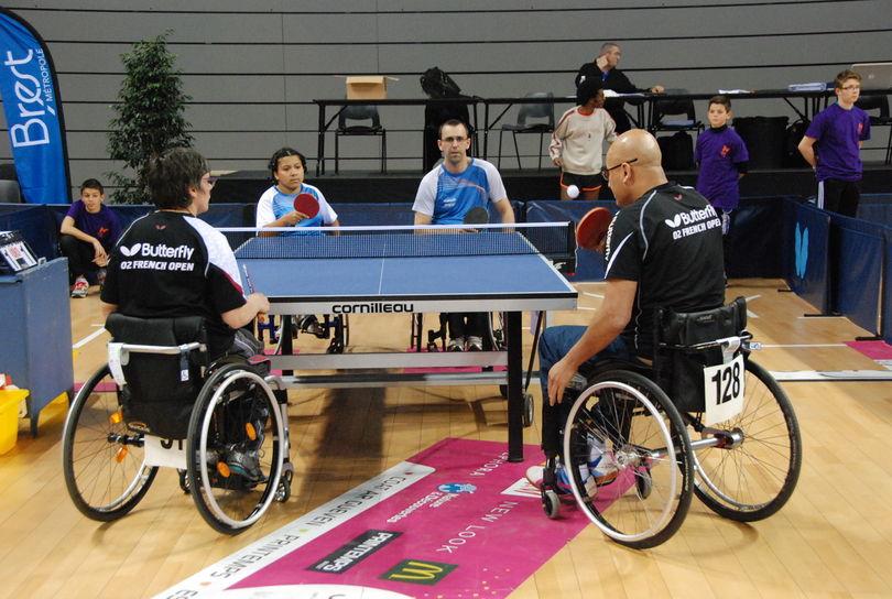 Handisport tennis de table wiki brest - Friendship tennis de table ...